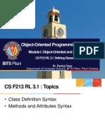 CS F213 RL 3.1