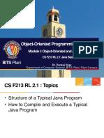 CS F213 RL 2.1