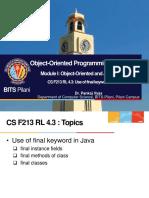 CS F213 RL 4.3
