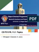 CS F213 RL 11.2