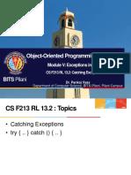 CS F213 RL 13.2