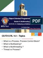 CS F213 RL 14.1