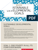 SDG (sustainable developmental goals)