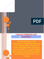 characteristics of learning.pptx