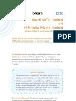Bharti and IBM