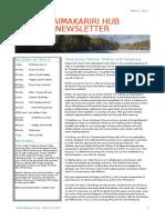 waimakariri hub newsletter t2 2017