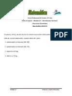 Ficha de Apoio Módulo A7- Distribuição Normal- Exercícios Resolvidos EAC