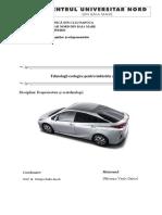 Ecotehnologii Aplicabile in Industria Auto