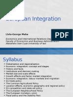 European Integration 1