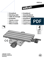 Wolfcraft 4060 Machining Table Manual
