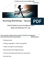 Aadit Life - Running Workshop