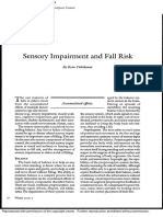 Sensory Impairment and Fall Risk