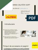 Lucian Paunescu_Analiza Site-ului Www.altex.ro