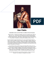 San Pablo - Patrono Del Clan Rover