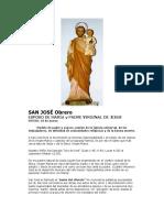 San José Obrero - Patrono de La Ruca Wengan