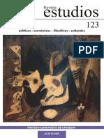 Revista Estudios N° 123