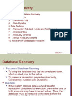 Database Recovery30