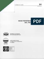 Base Referencial Mundial Del Recurso - Suelo
