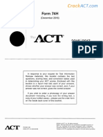 ACT 201612 Form 74H-Www.crackact.com