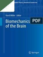 Biomechanics of the Brain - K. Mikker