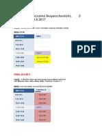 MBGC17 Schedule