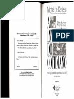 CERTEAU, Michel. Economia Escriturística. a Invenção Do Cotidiano