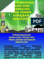 Pel 22 Perkembangan Sains Dan Teknologi Pada Zaman Kerajaan Abbasiyah