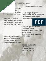 Poesia O CIsmar Das Ondas