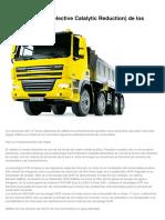 SCR en Camiones DAF