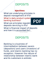 Deposits Management