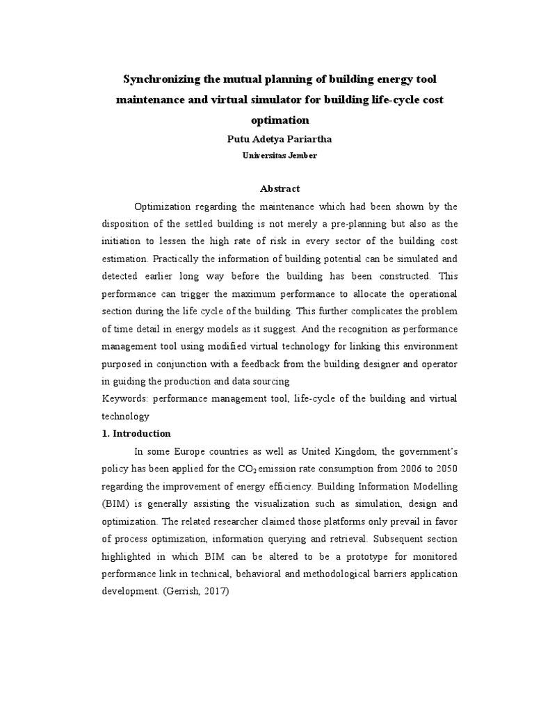 resume  building information modeling  time