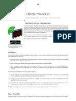 Hmi Controller - For Arduino