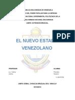 El Nuevo Estado Venezolano