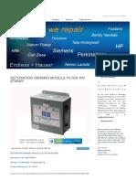 Detonation Sensing Module Filter P_n e740401 by Waukesha Repair at Synchronics Electronics Pvt