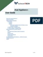 Seawolf Appliance User Guide