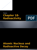 chapter 18- radioactivity