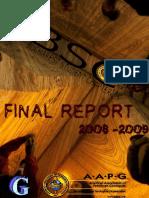 Final Report BSC 08-09