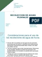 Arq. Luis Lopez - Aguas de lluvia