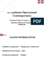 2.10 Ambiente de Paz Contemporaneo-sector Defensa