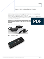 Data Sheet for Jawbone ICON for Cisco Bluetooth Headset