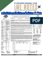 5.14.17 vs. MIS Game Notes
