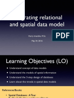 03 Integrating Relational and Spatial Model 2016