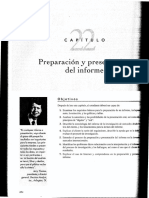 Preparacion & Presentacion de Informe_cap 22 Malhorta
