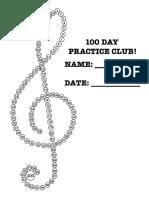 100 days of practice - treble clef.pdf