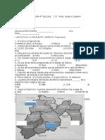 Examen de Asignatura 4to 1 b Env