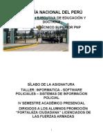 Silabo Informatica Sofware Policial