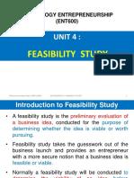 Unit 4 (Feasibility Study)