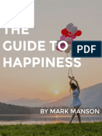 Happiness - Mark Manson
