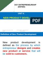 Unit 6 (New Product Development)