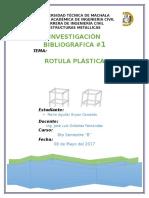 Rotula Plastica